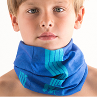 Blue Bandana Snood