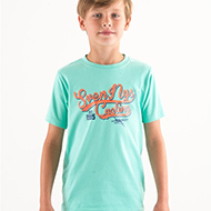 Kids T-Shirt Turquiose